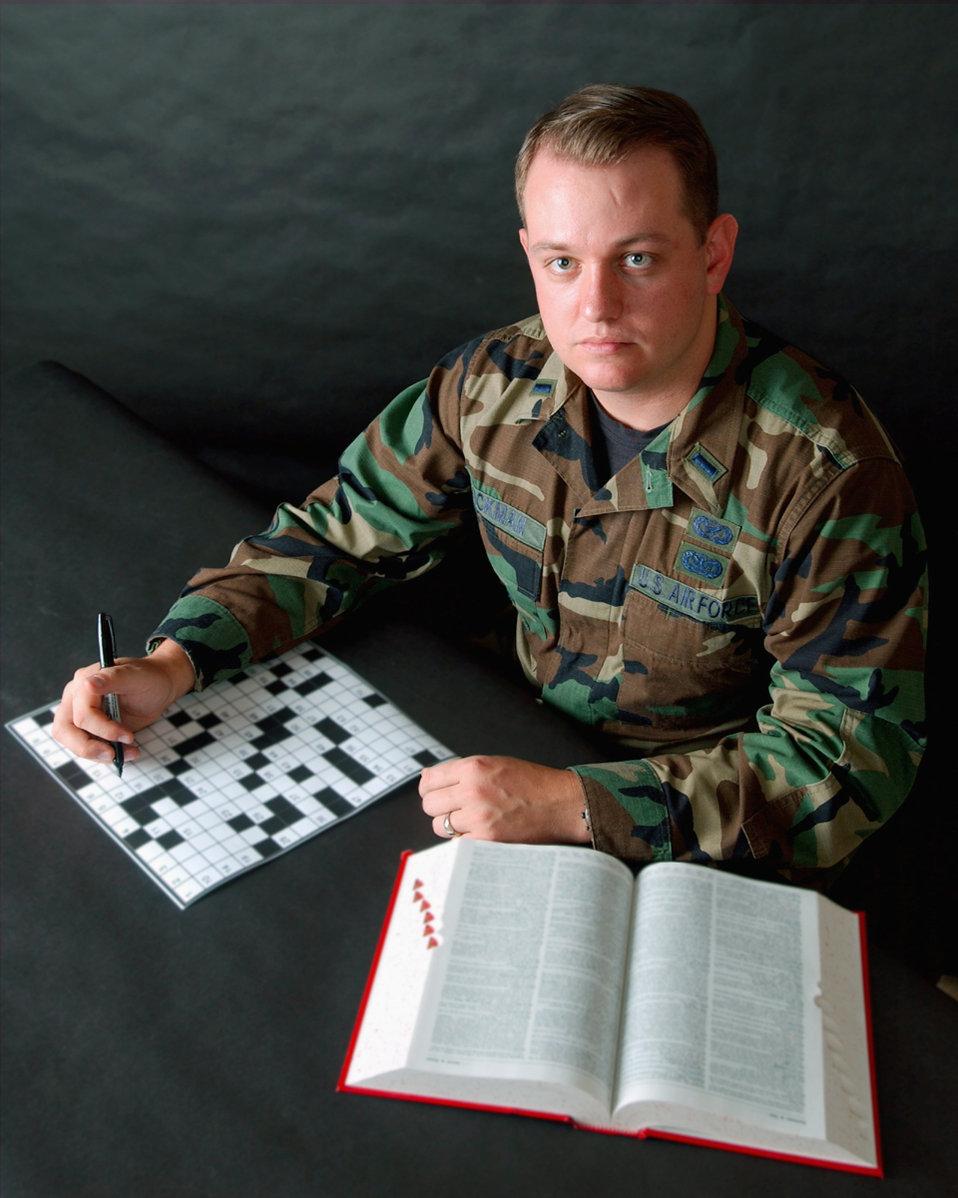 Puzzled lieutenant