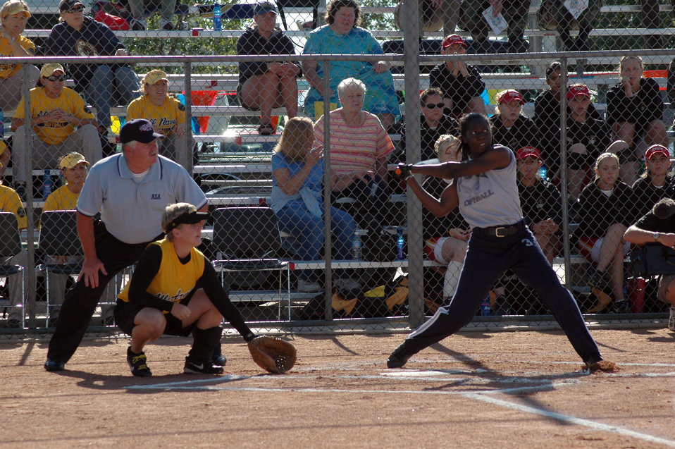 AF wins armed forces softball title