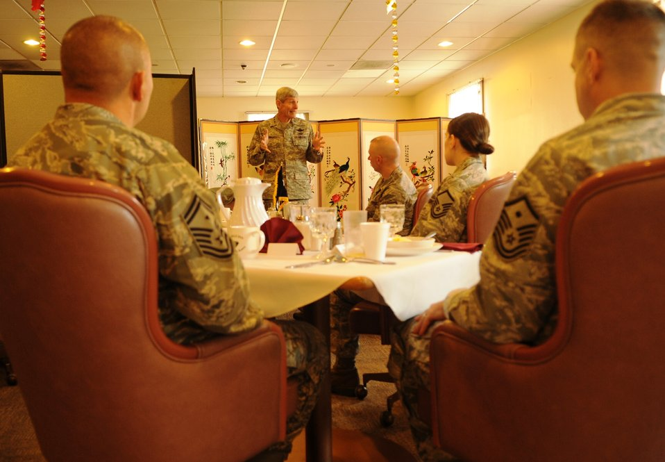 CSAF thanks Wolf Pack for commitment to service during holidays