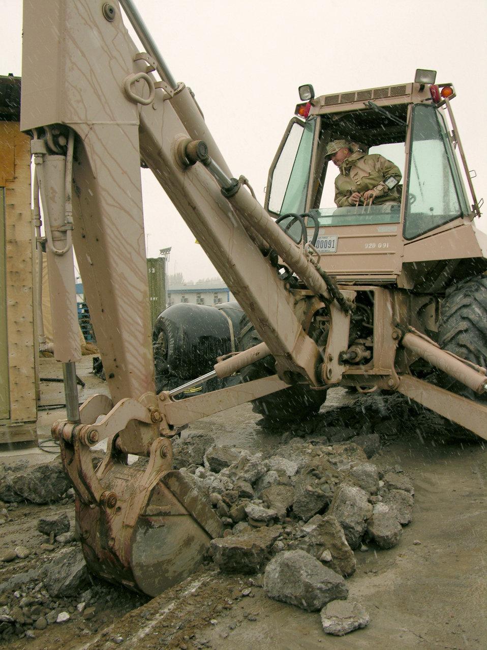 Deployed Airmen build a better life in Kyrgyzstan