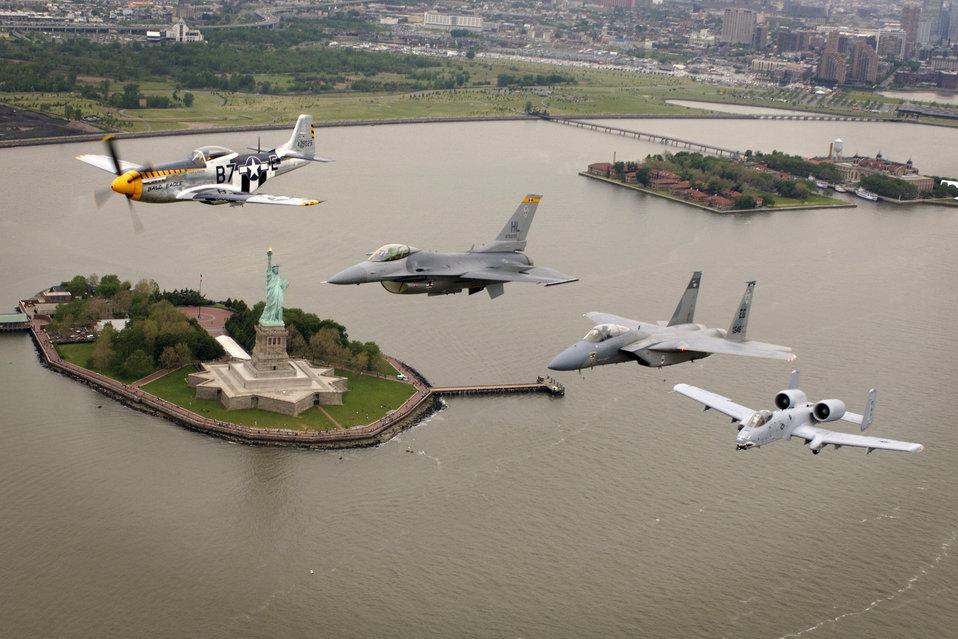 Heritage Flight over New York