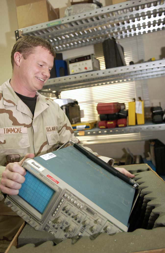 PMEL Airmen ensure equipment is ready for fight
