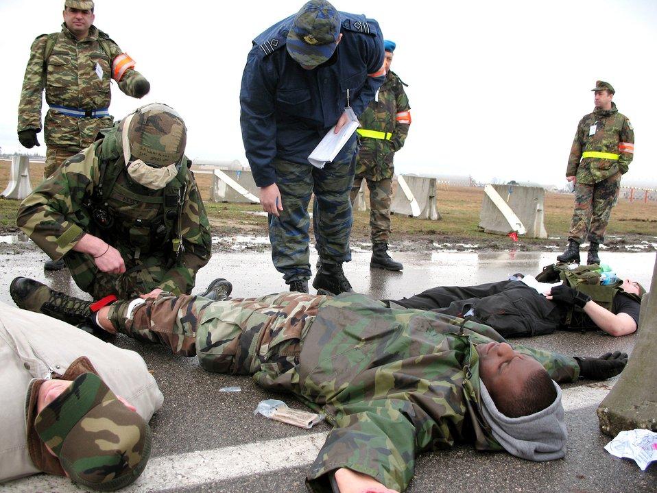 Aviano Airmen put skills to test
