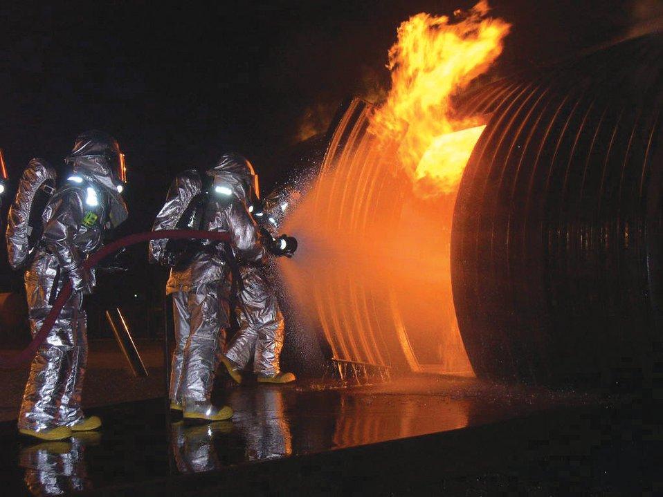 Fire battle