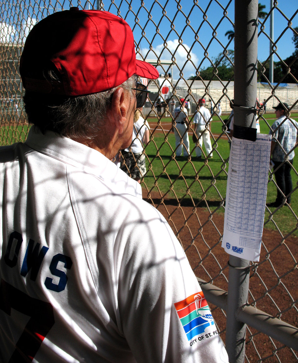 Time, and softball, heal old wounds
