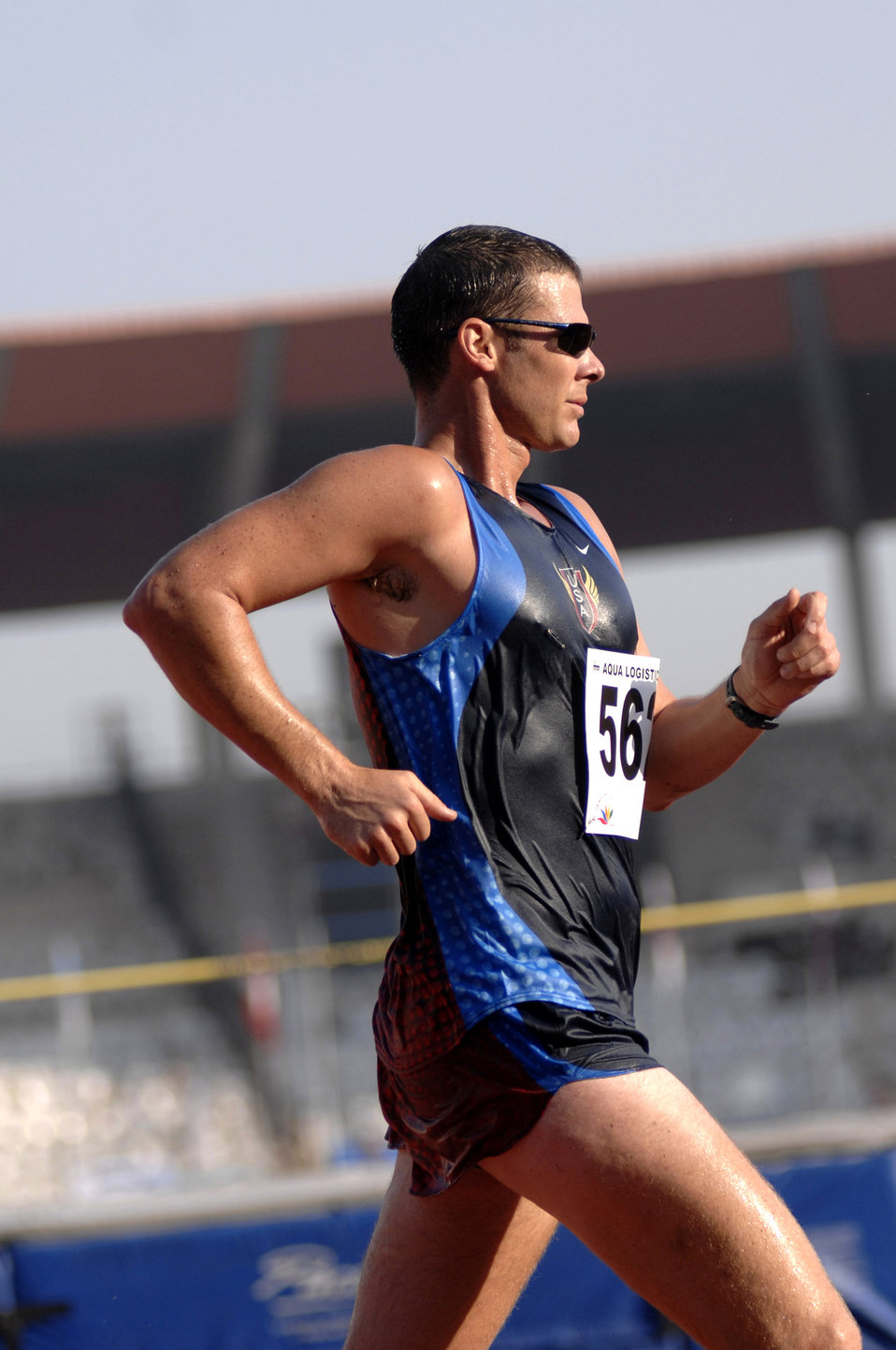 Americans compete in Military World Games