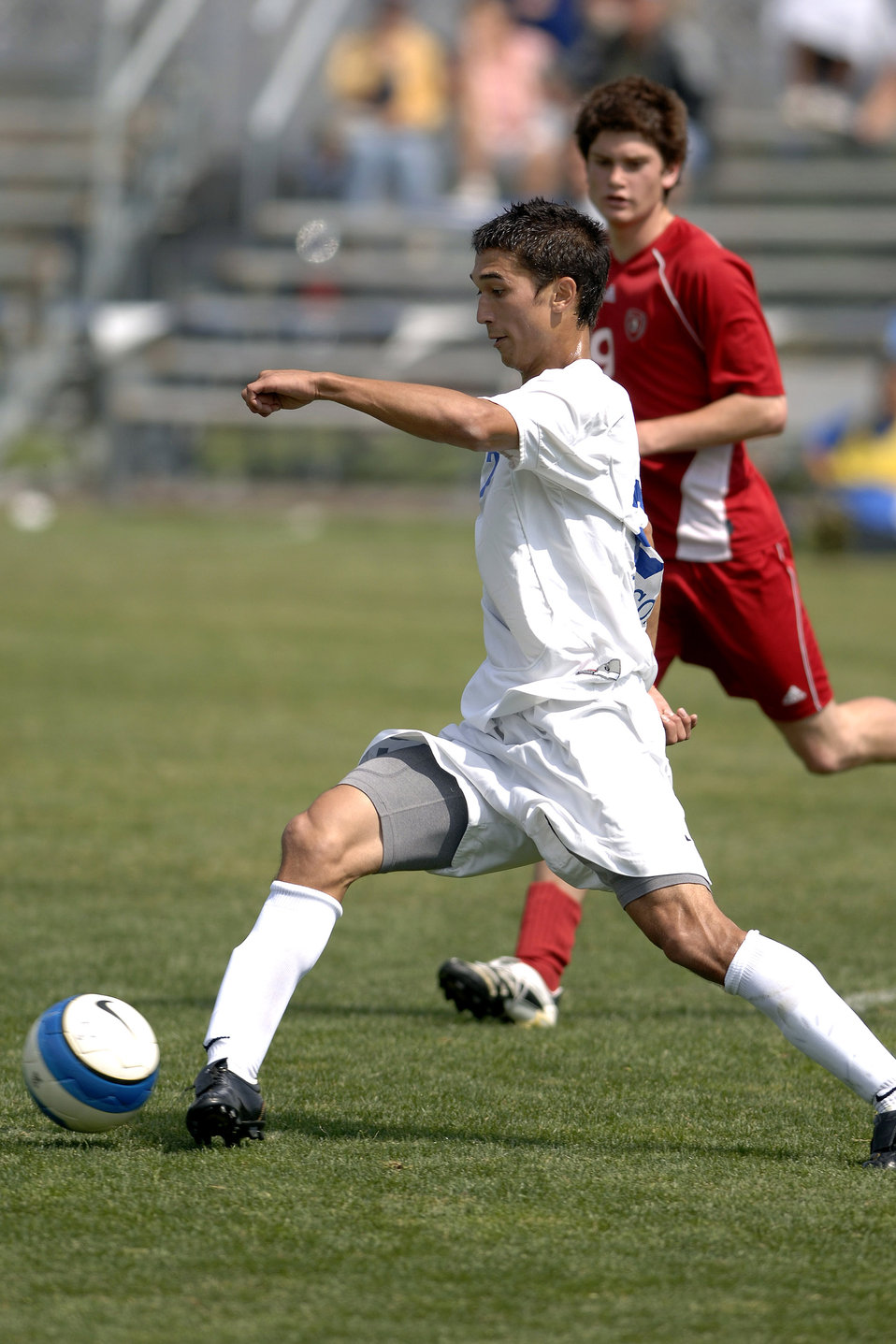Falcons shut out St. Francis in soccer action