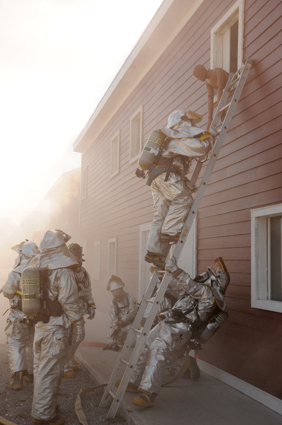 Firefighters sharpen their skills