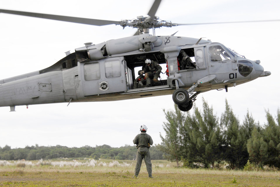 Airmen, Sailors train together for future relief efforts