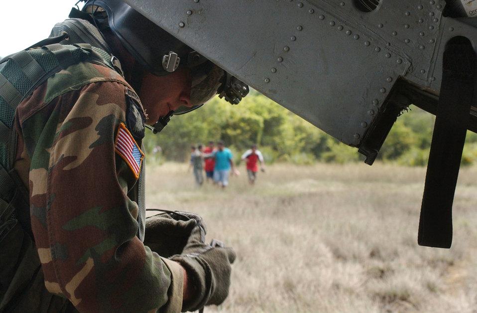 Guatemala relief aid