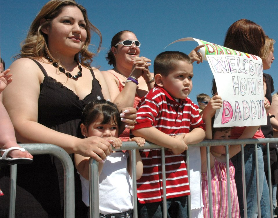 Airmen welcomed home at Mountain Home