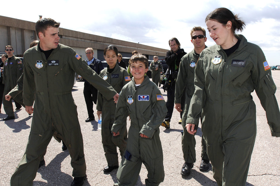 Academy honors 'Cadet for a Day' in Colorado
