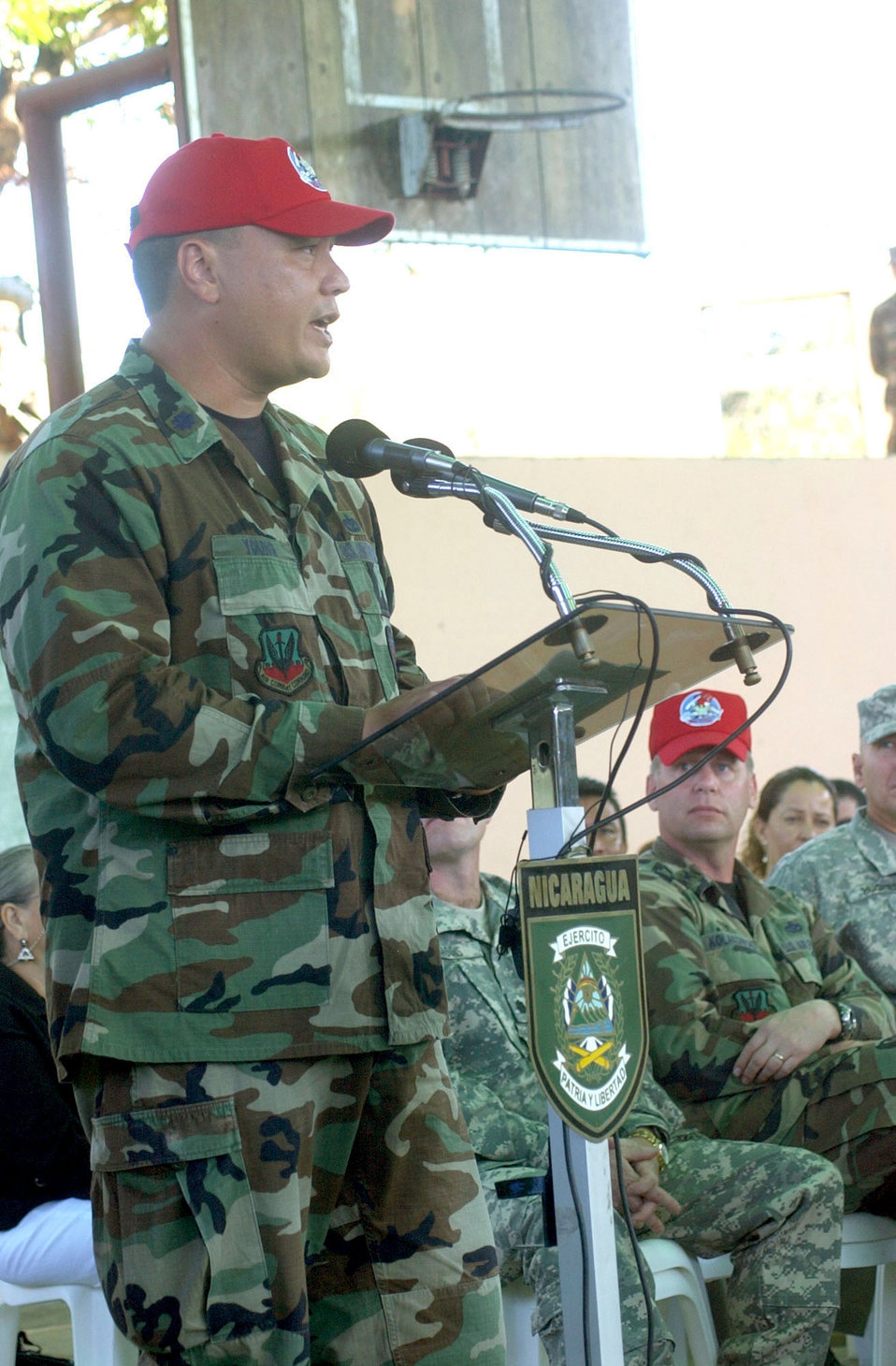 820th Red Horse starts 'New Horizons' project in Nicaragua