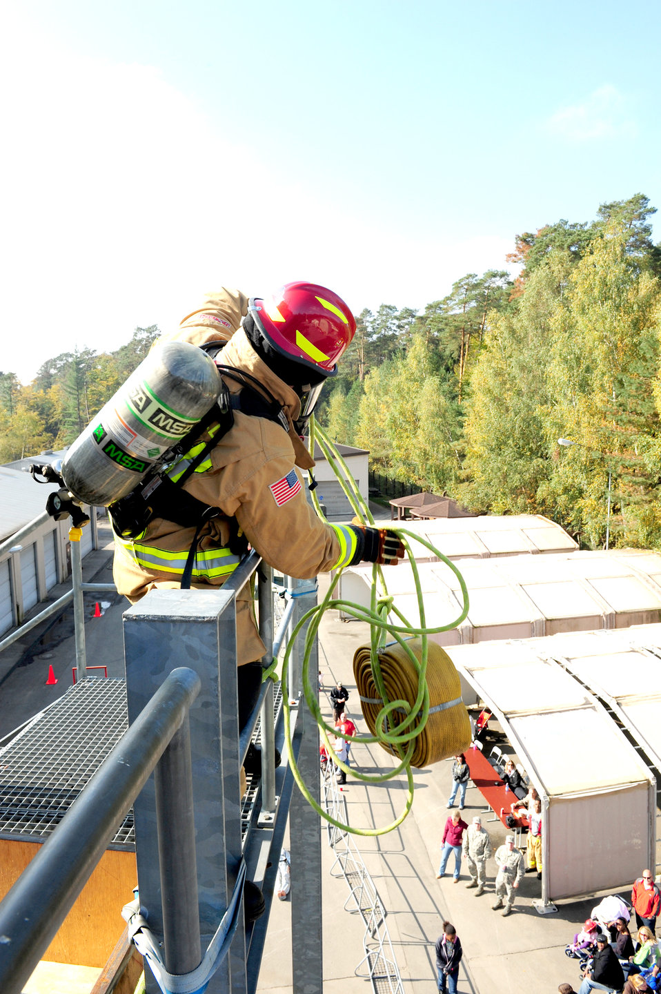 2010 USAFE Combat Firefighter Challenge1