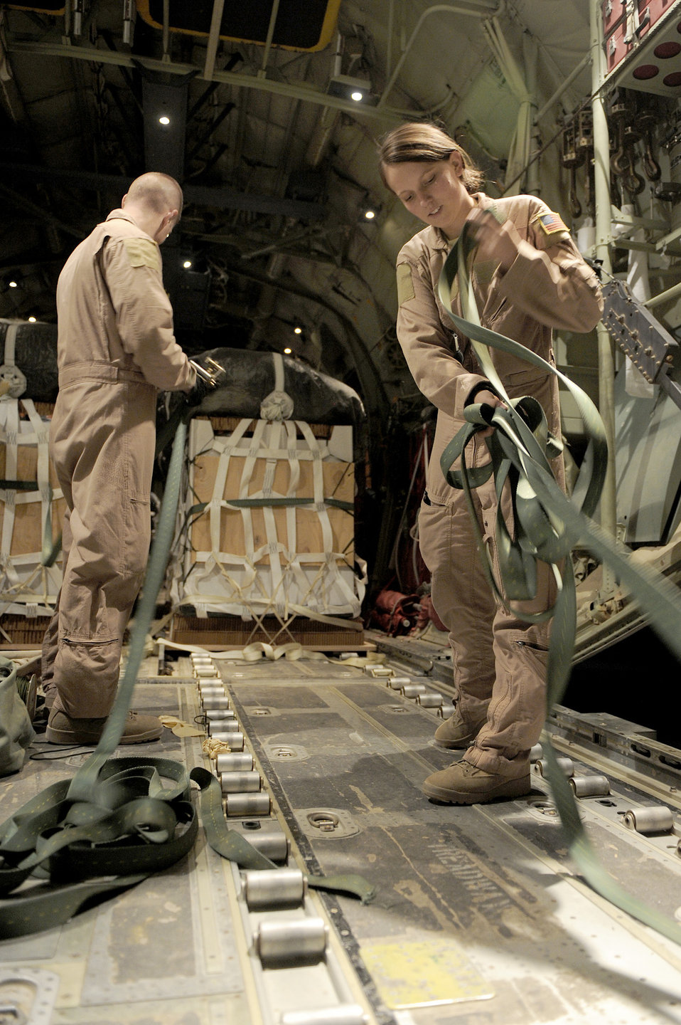 Supplies to remote Afghanistan bases