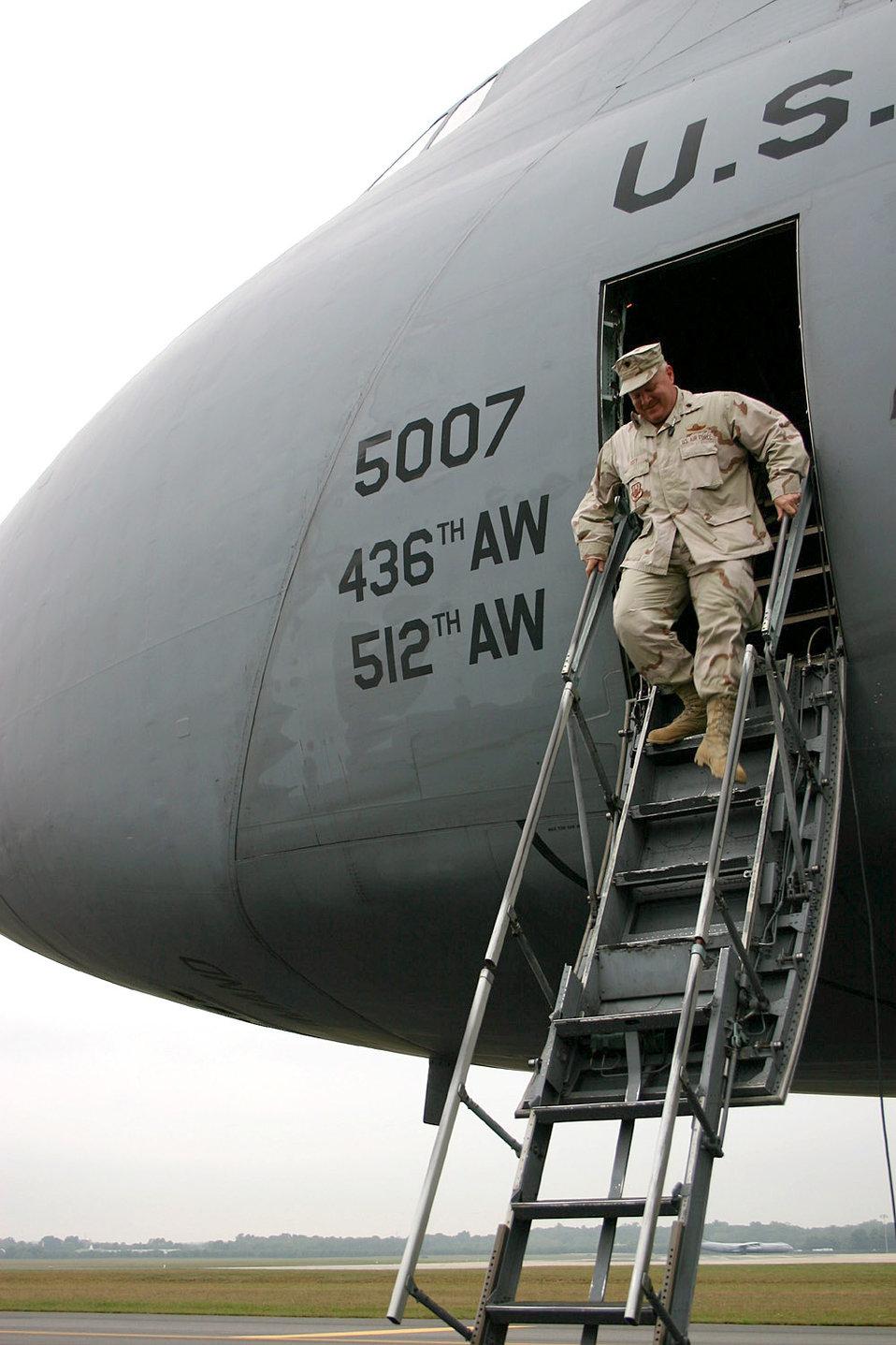 Lt. Col. serves on three AEF rotations
