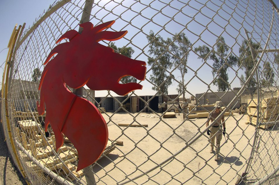 RED HORSE Airmen support Army in southern Baghdad
