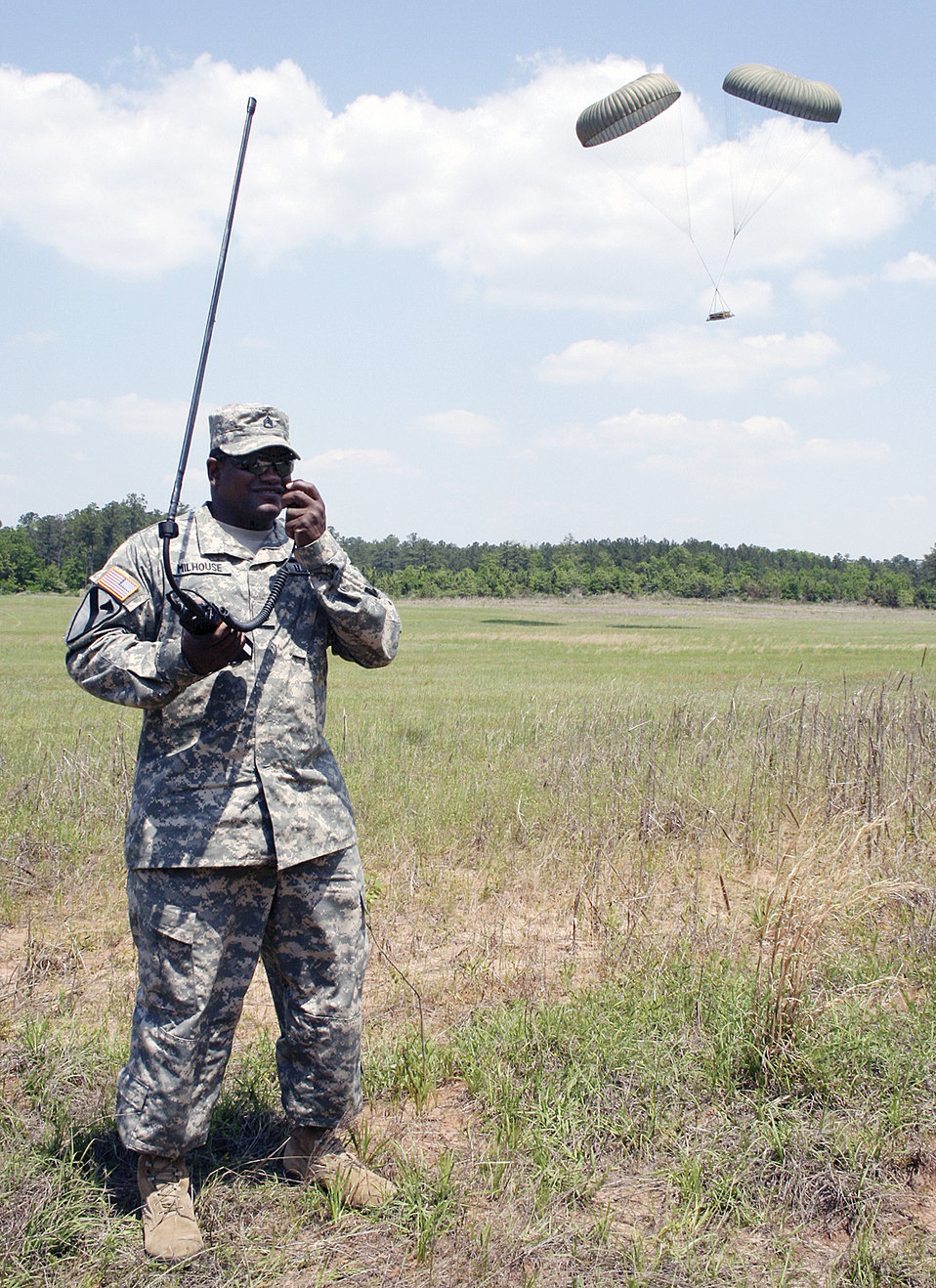 Army, Air Force open communications