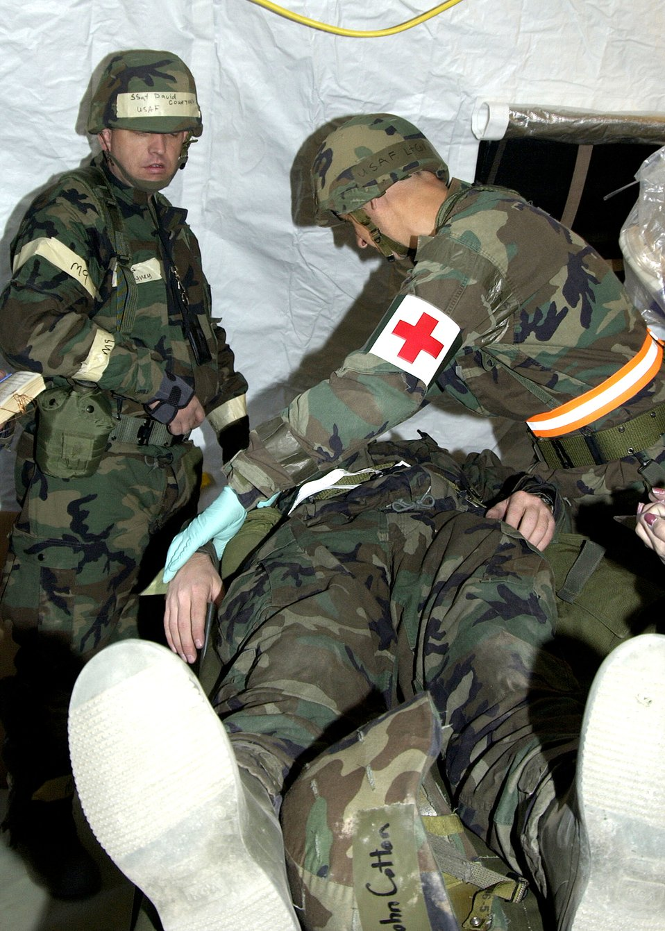 Treating the wounded