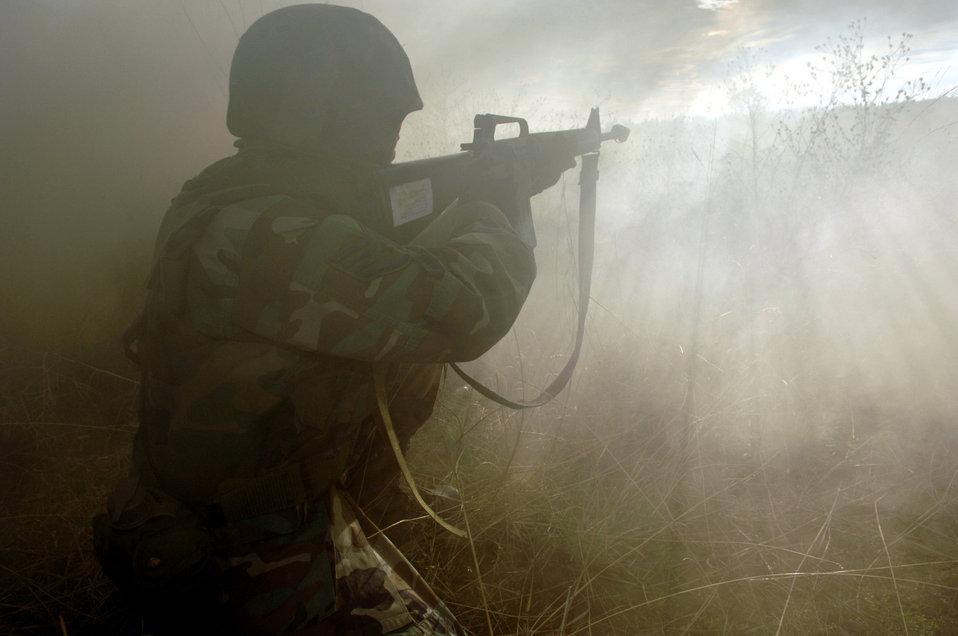 SF combat training