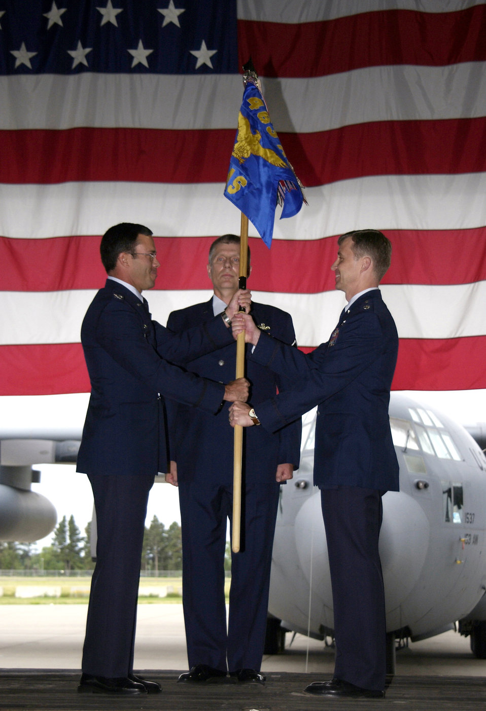 Active duty associate squadron a first for Air Force