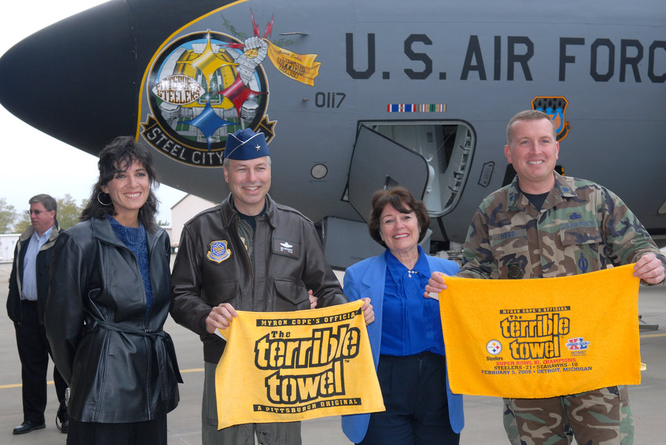 Air Guard unit shows off its 'Steel City Pride'