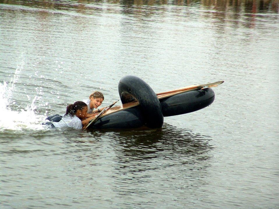 Rapid rafting
