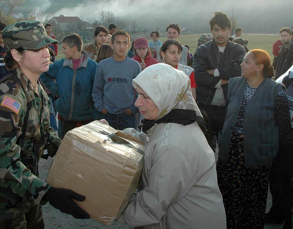 Humanitarian mission