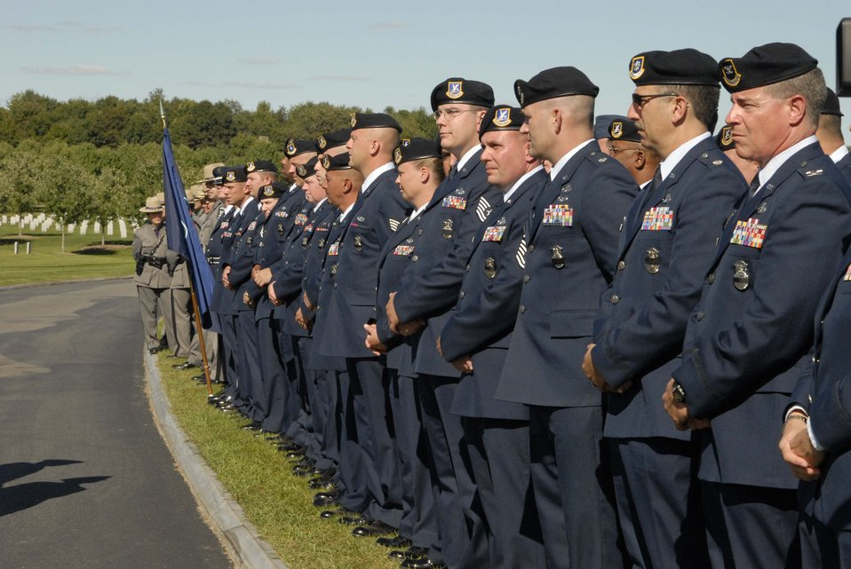 Airmen pay tribute to fallen guardsman