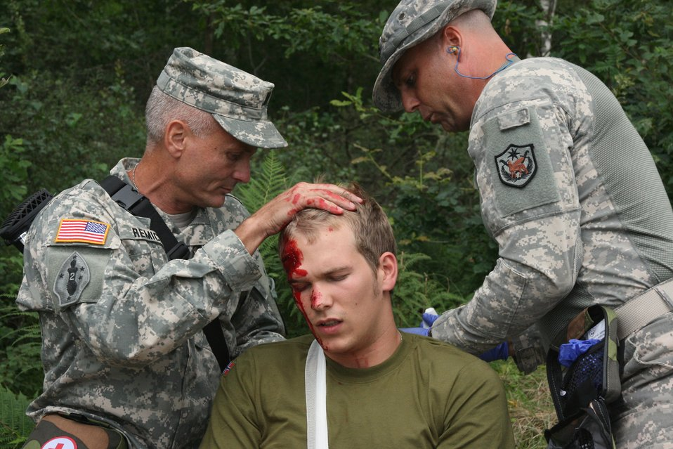 Combat Casualty Care exercise
