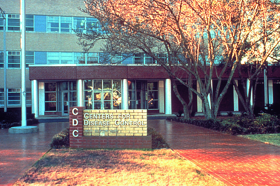 Front of Building 1, CDC, Sometime During the Late 1980's.
