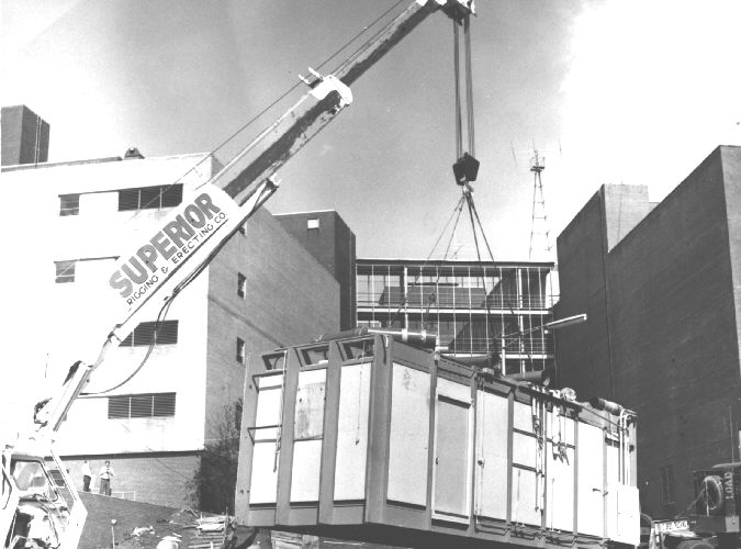 Construction of maximum containment lab at CDC.