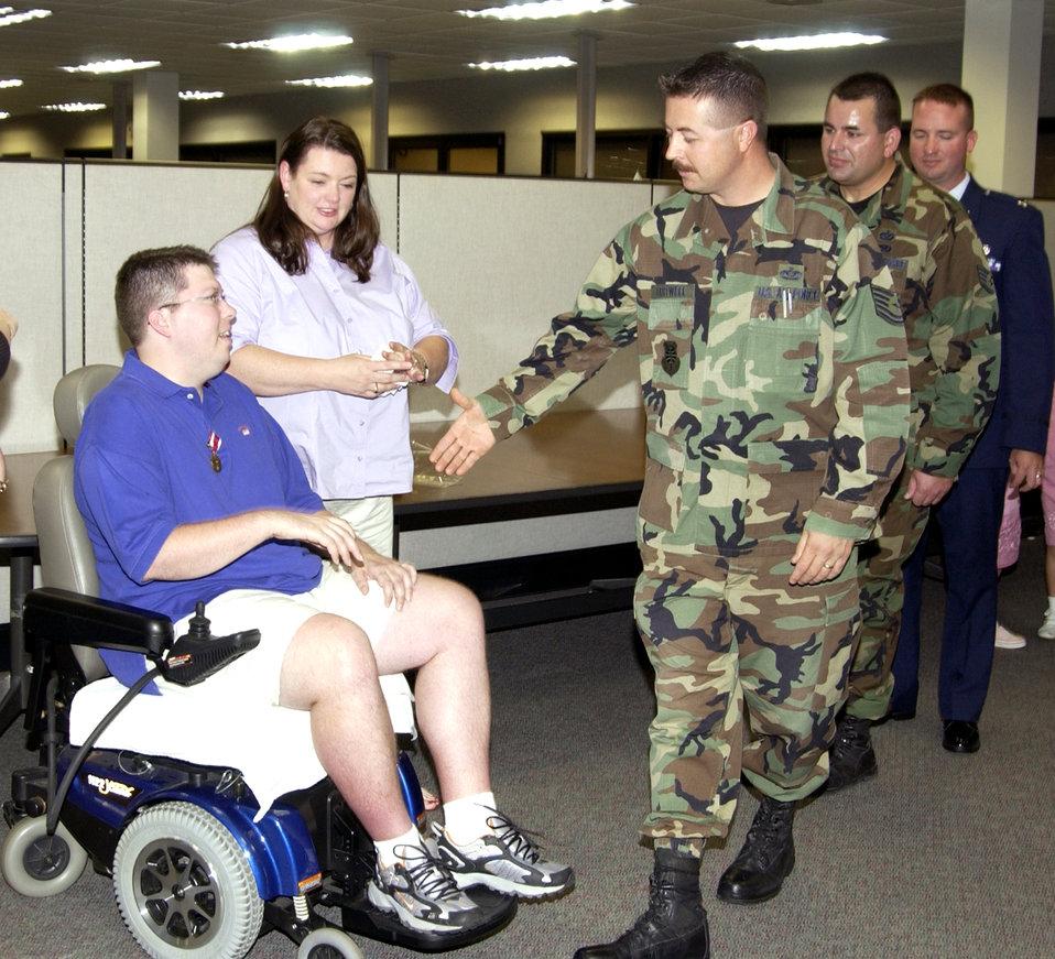 Sergeant retires
