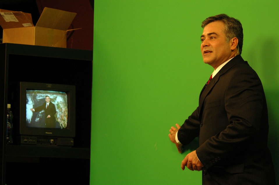 Washington weatherman