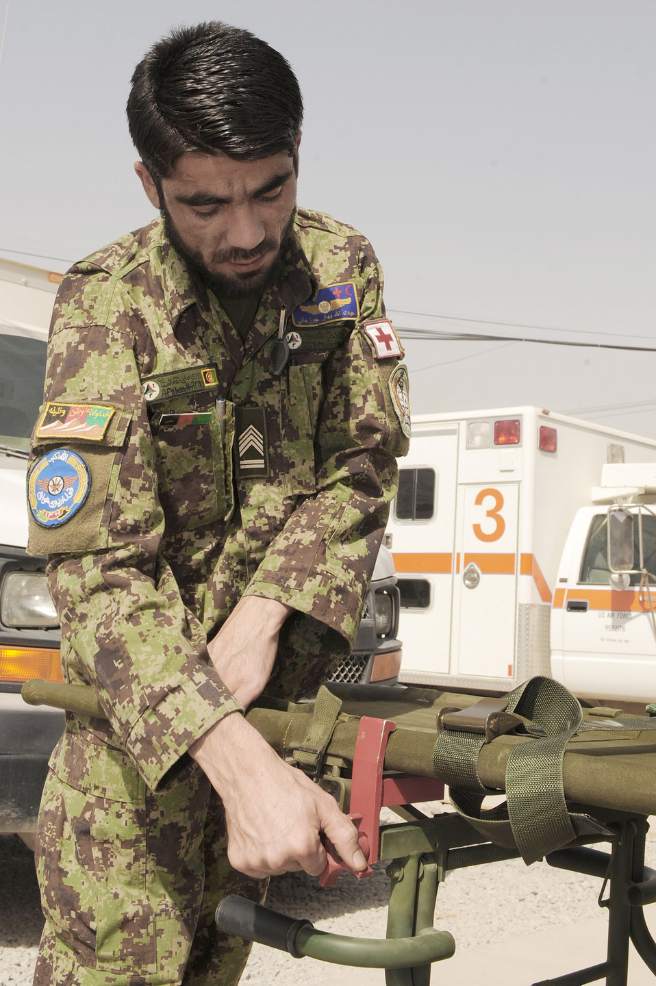 Medics showcase patient care concepts to Afghan airmen