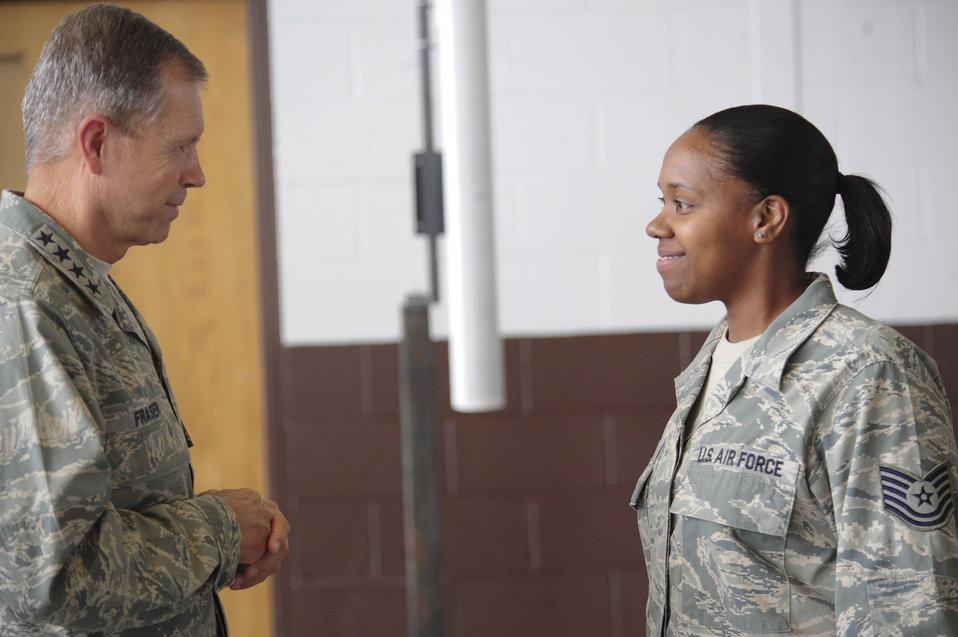 ACC commander visits Ellsworth