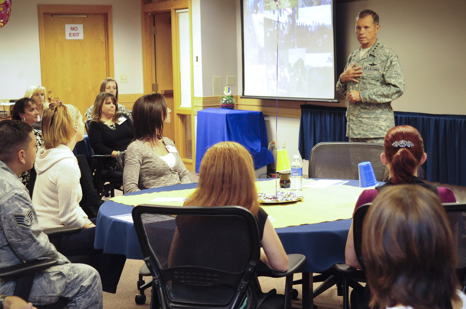 ACC commander visits Ellsworth