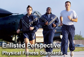 'Perspective' discusses physical fitness standards