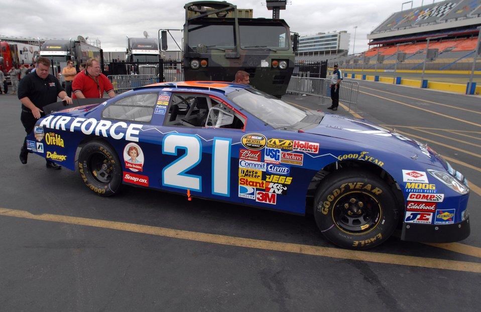 NASCAR salutes Air Force