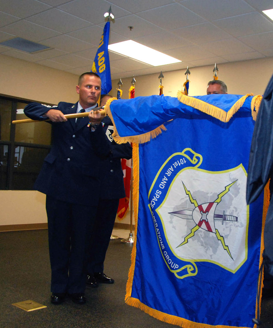 101st Air and Space Operations Group activation