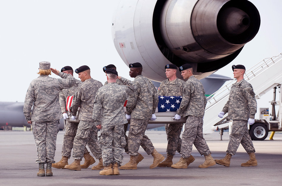 Dignified transfer mission close to home for Dover colonel
