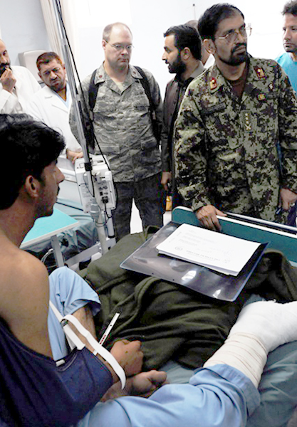 Physician mentors Afghan doctors