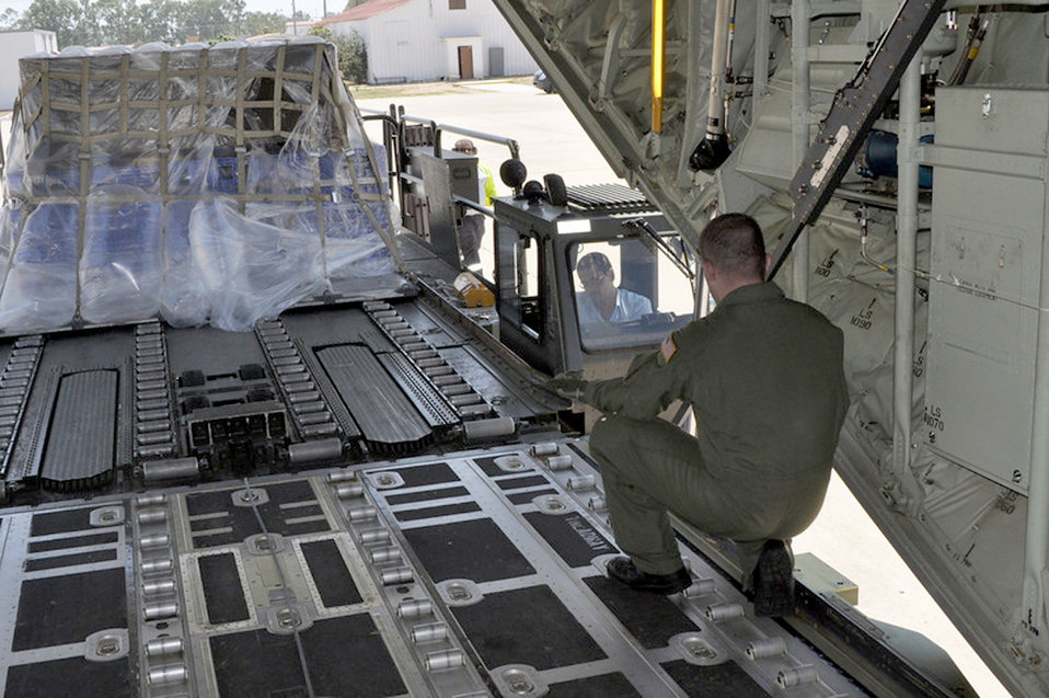 Ramstein Airmen, C-130s deliver supplies to Russia
