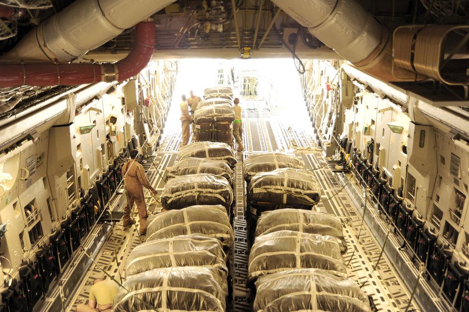 Operation Everest C-17 airdrop