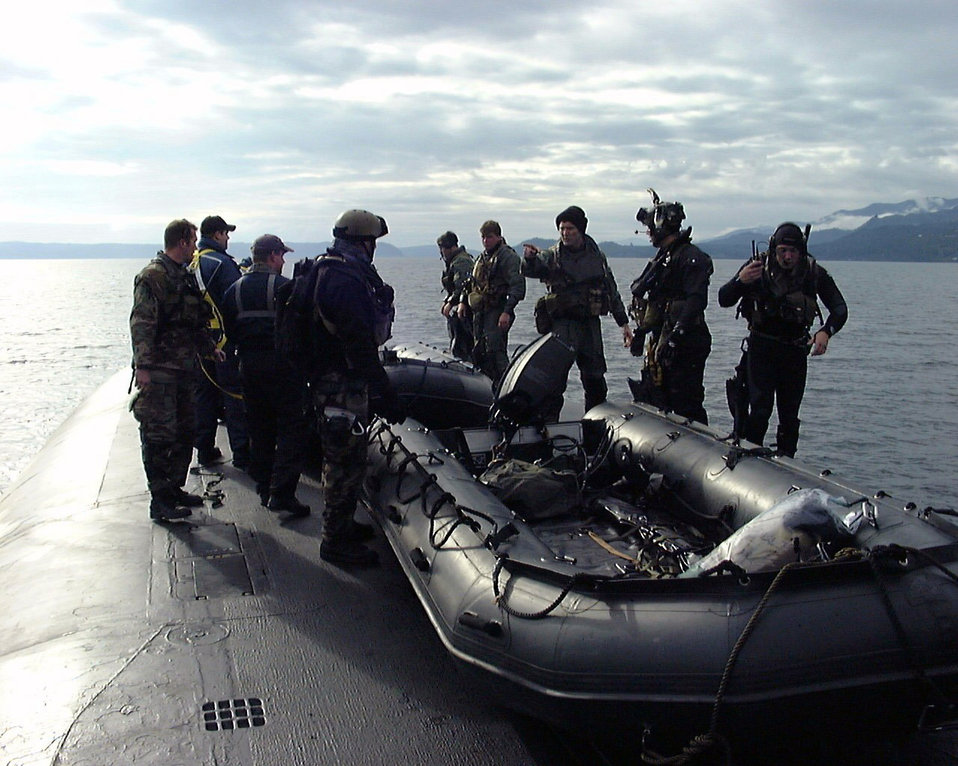 Submarine training