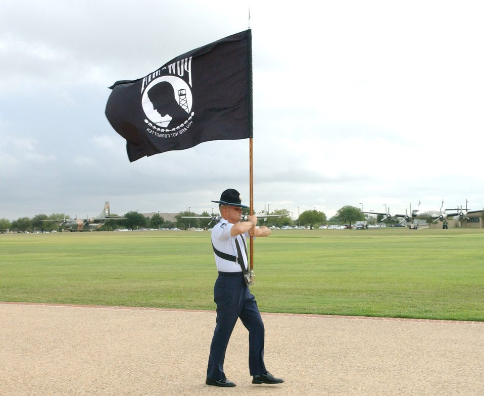 Basic training graduation ceremony focuses on POW/MIA Day