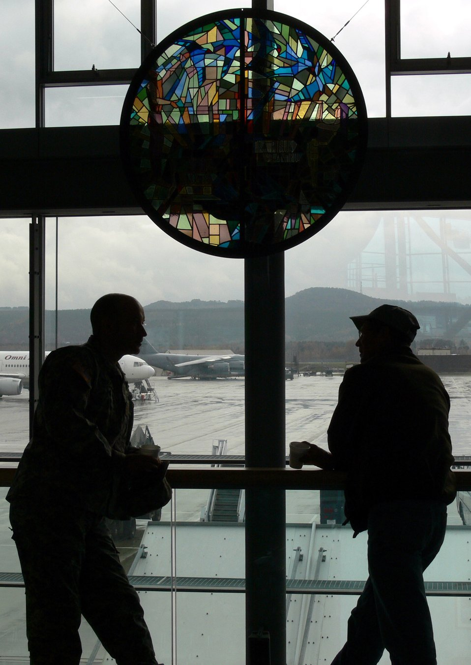 Historic window placed in PAX terminal