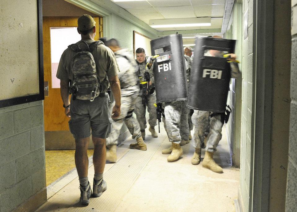 Holloman defenders train with FBI