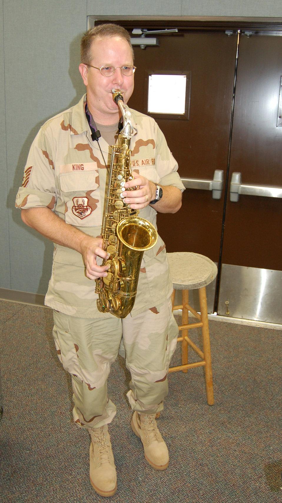 AF band targets forward bases for morale shows