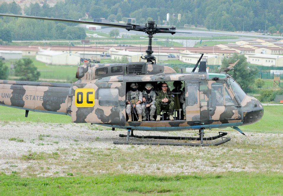 Close air support training
